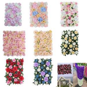 Künstliche Blumen Säule, Diy Blumenwand Hochzeit Kunstblumen Haus Party Dekor