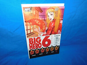 BIG HERO 6 #2  Low Print Run -Chris Claremont - Marvel Comics FN/VF