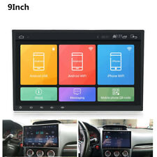 """Single Din Adjustable Android 9.1 9"""" 1080P Touch Screen RAM 2GB ROM 32GB OBD BT"""
