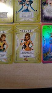 WINX CLUB 2004 COLLECTIBLE GAME CARDS CORAGGIO WNX - P35 carta da gioco card