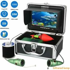 Gamwater Underwater Fishing Video Camera Kit 1000tvl 6W Ir Led White Led with