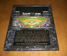 MLB New York Yankees Jeter-Gehrig-Munson Legacy Collection Plaque 12 x 15-Inch