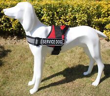 TRAINING THERAPY Dog Vest Reflective Service Dog Harness Removable Patches