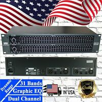 EMB EB631EQ Professional Sound System 31 Bands Graphic Equalizer w/EQ Bypass New