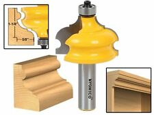 Yonico 16127 Classical and Bead Molding and Edging Router Bit 1/2-Inch Shank