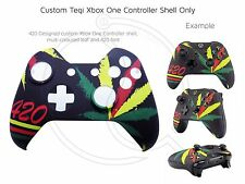 Brand New Xbox One Controller 420 Weed Kush Ganja Front Shell Unique Finish Mod