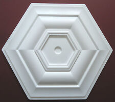 Ceiling Rose Size 500mm - 'Kensington1' Lightweight Polystyrene *We Combine P&P*