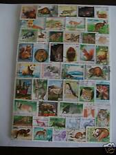 **** TIMBRES ANIMAUX  : 100 TIMBRES TOUS DIFFERENTS / ANIMALS STAMPS ****