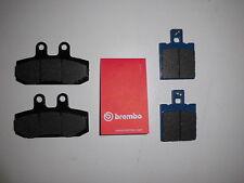 Brembo Bremsbeläge Bremsklötze Bremse vorne + hinten Honda NSR 125 JC22