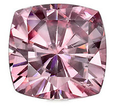 1 ct Pink Cushion World's Best Vintage Top Russian Quality CZ 6x6 mm