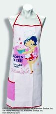 BETTY BOOP APRON CHEF DESIGN PINK & WHITE