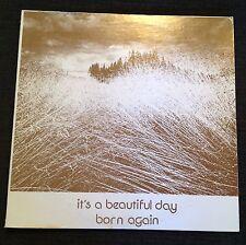 1974 It's A Beautiful Day Born Again Promo Copy PRIVATE PRESS Psyche Folk Rock