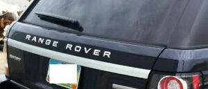 Range Rover Sport L320 OEM 2012-2013 Upper Tailgate Moulding With Chrome Strip