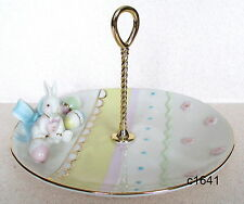 Lenox Occasions Easter Bunny Server Handled Serving Tray - New in Box