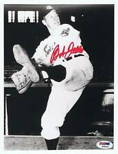 Bob Feller 8X10 Photo PSA/DNA Auto Signed