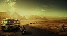 "201 Breaking Bad - Season TV Show 2012 2013 Hot Art 26""x14"" Poster"