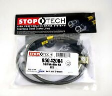 STOPTECH STAINLESS STEEL FRONT BRAKE LINES FOR 03-08 NISSAN 350Z