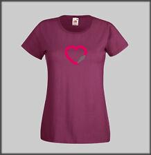 Los santuarios Borde Corazón Mosquetón T Shirt Regalo Climb Escalada Boulder Girl