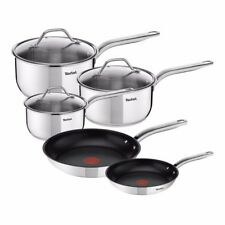 Tefal A703S544 Intuition Stainless Steel 5 Piece Cookware Set - RRP $349.95
