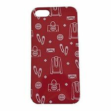 New Tory Burch Icons Hardshell Case for Apple iPhone 5 5S Cabernet Red
