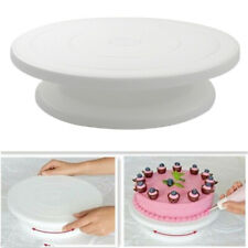 10 Inch Cake Stand Turntable Rotating Anti-skid Round Decorating Kitchen Table