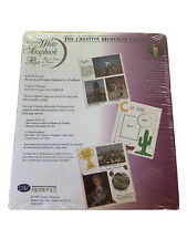Creative Memories 12 x 15 Scrapbook Refill  RCM-15R  NEW SEALED  White Lined