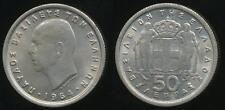 Greece, Kingdom, Paul I, 1964 50 Lepta - Uncirculated