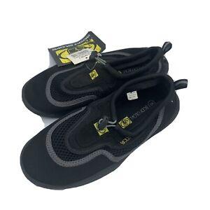 Body Glove Boys Riptide II Water Aqua Black Shoes Youth Size 5 New NWT