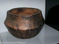 Ancien vase en terre cuite orient