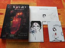 Kabuki Métamorphose + kabuki collection signé David Mack comic box