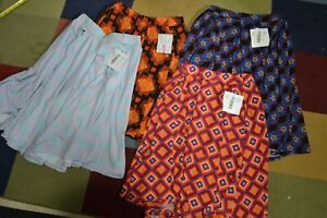 Lularoe Madison Skirt Lot Size Small NWT New Geometric Designer Designs Abstract