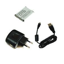 Akku und Ladegerät und Ladekabel für Nikon Coolpix A100 A300 S32 S2500 S2550