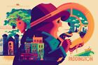 Mondo Paddington (Variant) Poster by Tom Whalen Sold Out Pre Order Edition / 150