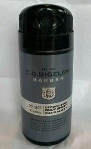 Bath & Body Works C.O. Bigelow Elixir Black 1621 Deodorizing Spray New 3.7oz