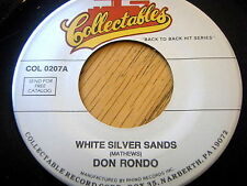 DON RONDO - WHITE SLIVER SANDS / TWO DIFFERENT WORLDS