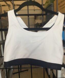 White Nike sportsbra Dri-Fit size L