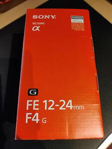 Sony FE 12-24mm F4 G lente Objetivo SEL1224G E-mount Gran Angular