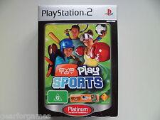 PLAYSTATION 2 PS2 PAL juego EyeToy Play Sports con cámara variante de Australia