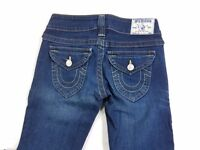 True Religion Joey Womens Denim Jeans Boot cut Flare sz 26 actual W27