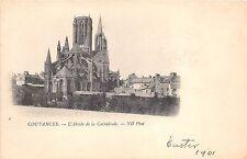B5561 La Base normandia Coutances L`Abside de la Cathedrale