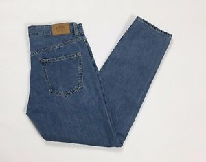 Bershka jeans uomo hot w28 tg 43 denim slim boyfriend usato skinny blu T2414
