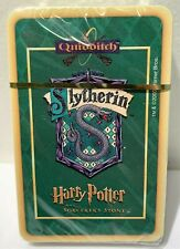 Harry Potter and the Sorcerers Stone Quidditch Card Game Slytherin Cards Sealed