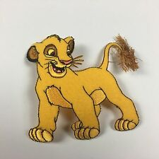 Disney SIMBA Lion King Embroidered Iron On / Sew On Patch, Party Favor, Animal