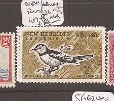 New Hebrides Bird SG 107-8 MOG (4dac)
