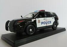 1/24  MOTORMAX Ford Explorer - Custom - Edmonton Police Service