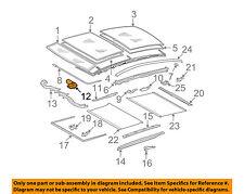 MERCEDES OEM 07-09 E350 Sunroof Moon Roof-Motor 2118202742