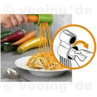 Spiralschneider mit Schärfer für Gemüse Spiral-Gemüse-Schneider Gemüseschneider