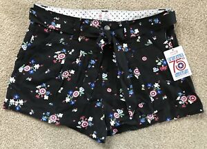 Her Universe Captain America 75th Anniversary Shorts For Jr. Women In Size M NWT