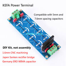 Positive Negative Dual Power Supply Rectifier Filter Board Kit for Headphone Amp