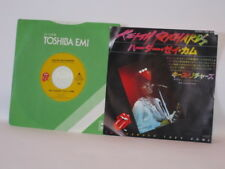 "Keith Richards - Harder They Come / Run Rudolph 7"" NM- japanese  sleeve toshiba"